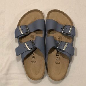 Birkenstock Pebble Leather Arizona Sandals 38